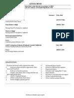 atoosa benji resume 2016