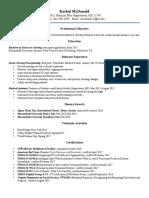 resume best portfolio