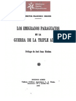 Los Emigrados Paraguayos de la Guerra de la Triple Alianza, de Héctor Francisco Decoud