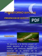 Prevención y Detección Precoz Trastorno Bipolar
