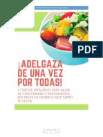 17 Dietas Para Adelgazar