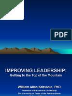 Kritsonis - Improving Leadership