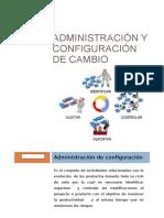 Administración y Configuración de Cambio
