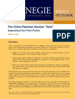 """The China-Pakistan Nuclear """"Deal"""""""