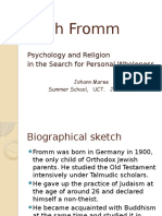 OC Lecturenotes Pschology Erich Fromm