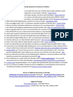 Fluoride Questions for Directors of Utilities