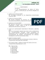 Cuestionario Programacion