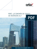 Peru Economia de Grado de Inversion A