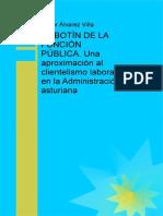 El Botin de La Funcion Publica Administracion Asturiana Javier Álvarez 2014 (1)