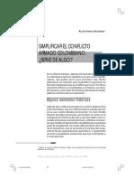 Dialnet-SimplificarElConflictoArmadoColombiano-5146420.pdf