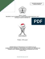 Kunci Jawaban OSK 2017 Geografi.pdf