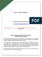 MANUAL PRACTICO DE REGISTROS CONTABLES NIIF NIVEL 2 Pasivos Ingresos.pdf