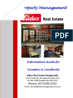 Info Guide for Property Management