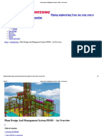 Plant Design and Management System PDMS - An Overview