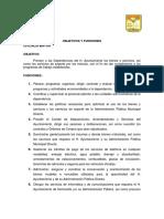 Objetivos y Funciones Areas Om-09