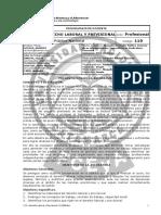 Derecho Laboral y Previsional