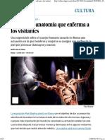 Clase de Anatomía Que Enferma en ROMA