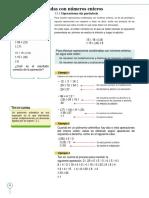 Operaciones Combinadas Con Números Enteros