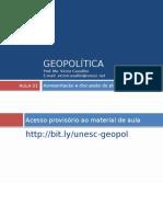 Geopolítica - Aula 01