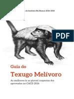 Guia 2017 Texugo Melivoro