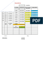 Excel Nivelacion Geometrica