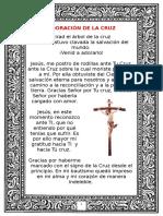 Adoración de La Cruz