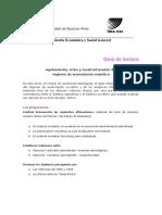 Guía de Lectura Texto de Graziano
