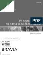 Bravia Kdl26m4000 Es