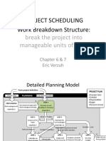 Ch6&7_Work Breakdown Structure and Realistic Scheduling