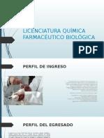 Licenciatura Química Farmacéutico Biológica