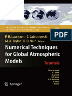 Numerical Techniques for Global Atmospheric
