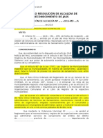 9 Modelo Resolucion Alcaldia Reconocimiento Jass