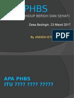 PHBS BEDINGIN 2017