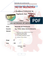 Los Materiales Bituminosos