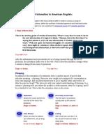 6 Major Aspects of Intonation in American English(1)