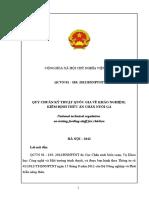 QCVN 01.103 Chan Nuoi Ga