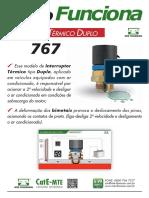 MTE Interruptor Termico Duplo 767