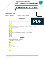 Practica Semanal Matematica
