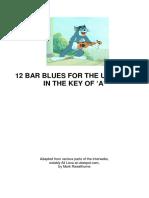 12 Bar Blues for Uke