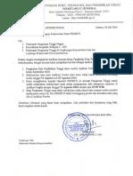 Surat Penutuan Sinkronisasi Data PDDIKTI