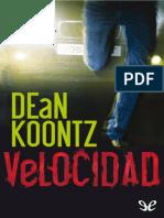 Koontz, Dean R. - Velocidad [13007] (r1.0)