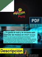 Texto Promocional – Difusión Perú