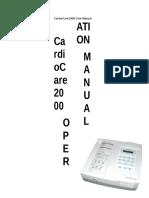 Manual - BIONET CardioCare 2000 OP Manual _by BA, 20051205