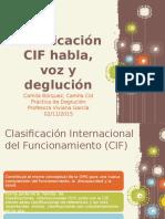 Clasificación de La CIF