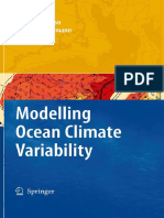 Modelling Ocean Climate Variability by Artem S. Sarkisyan and J¨urgen E. S¨undermann