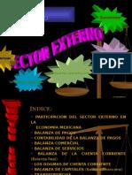 Sector Externo Macroeconomía