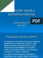 Protección social y economía informal