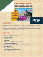 Spleandour of Kashmir & Ladakh Tour