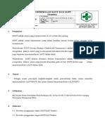 8.1.1.1. SOP Pemeriksaan SGOT Dan SGPT (Stanbio)