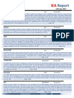 IEA Report 17th April